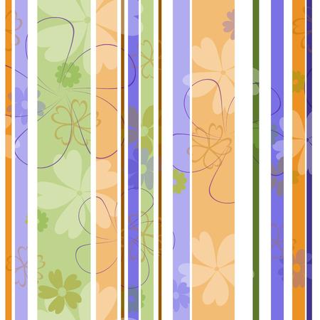 Mooie naadloze bloemenpatroonillustratie Stock Illustratie