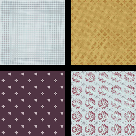 tarnished: Beautiful seamless abstract pattern. Illustrations and vector art.