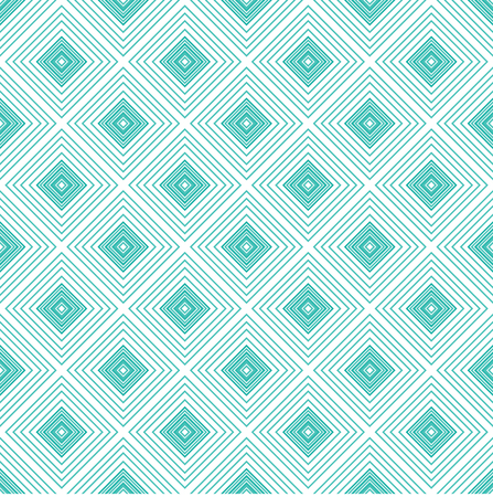 expanding: Blue rhombus geometric seamless pattern.Fashion and bright graphic design. Vector illustration
