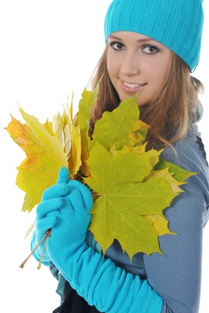 woman in winter style Stock Photo - 8182005