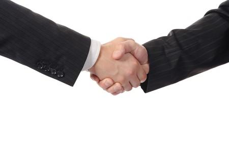 businessmen handshake: Handshake