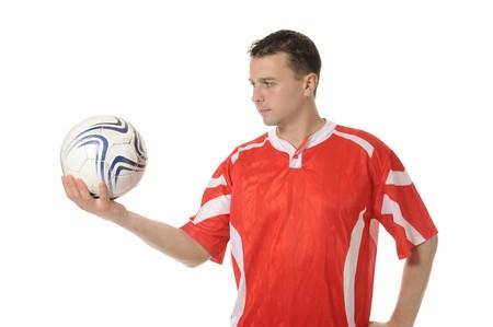 Football player Stock Photo - 8181982