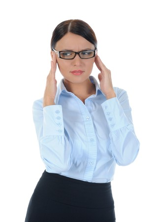 Portrait of a young  businesswoman. Stock Photo - 8182043