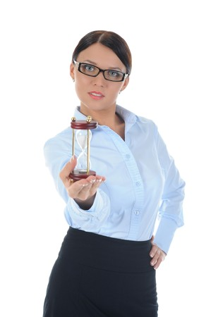 Portrait of a young  businesswoman. photo