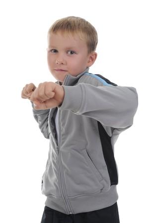 sporty little boy Stock Photo - 8182108