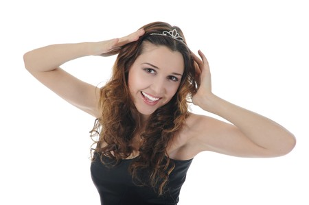 Smiling young woman Stock Photo - 8182144