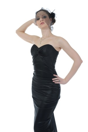woman in evening gown Stock Photo - 8182098