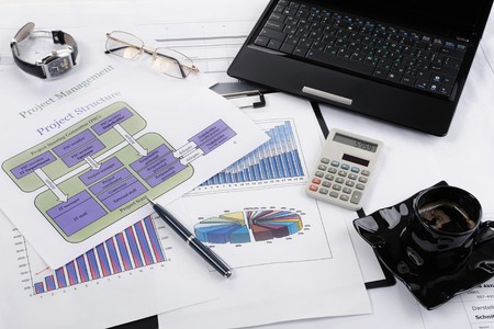 table businessman Stock Photo