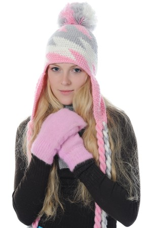 woman in winter style Stock Photo - 8259875