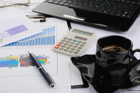 table businessman Stock Photo - 8259881