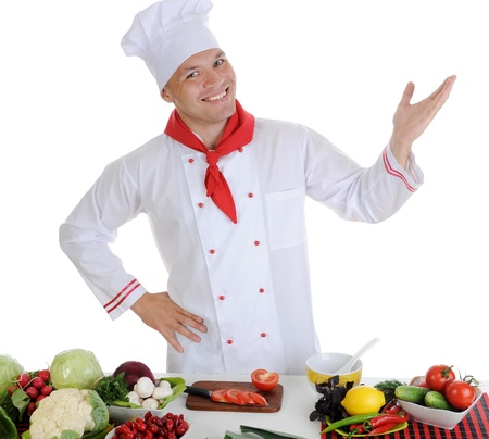 Chef Stock Photo - 8260140
