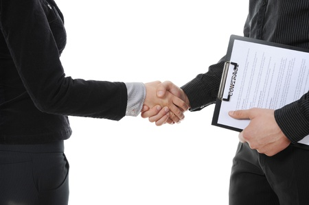 Handshake Stock Photo - 8260217