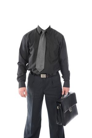 Clothing on the living dummy. Isolated on white background Stock Photo - 8355515