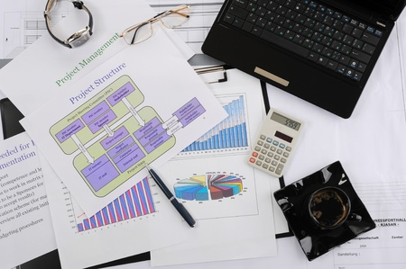 image of things on the table businessman Stock Photo - 8355631