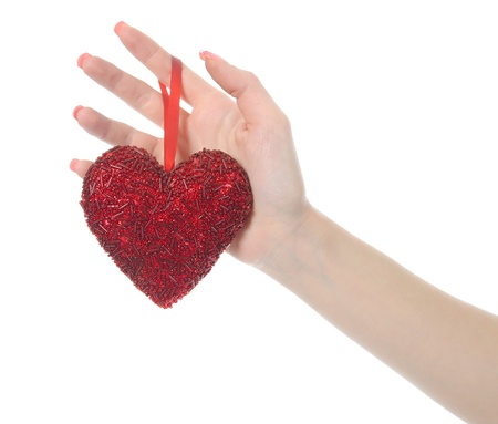 heart in hand Stock Photo - 8734574