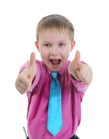 tumb: Funny little boy