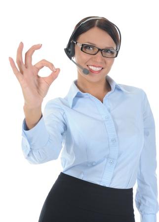 beautiful young woman in headphone Stock Photo - 8734585