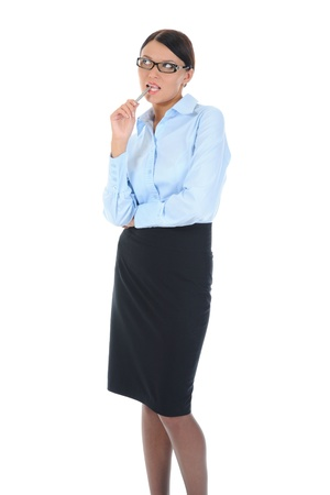 Portrait of a young  businesswoman. Stock Photo - 8734540