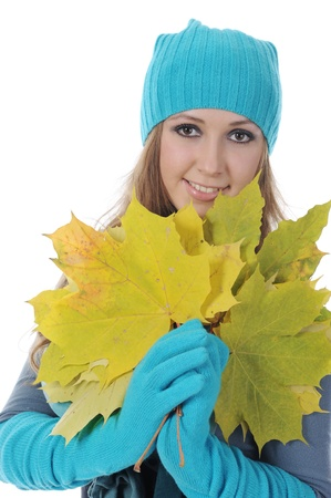 woman in winter style Stock Photo - 8889249