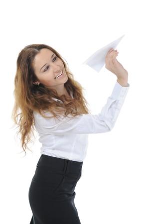 paper plane photo