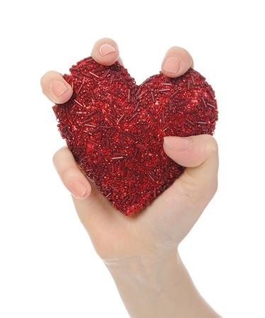 heart in hand Stock Photo - 8889636