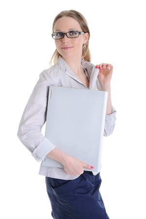 Portrait of business woman. Stock Photo - 8889449