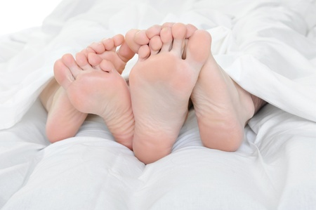 Close-up of the feet photo