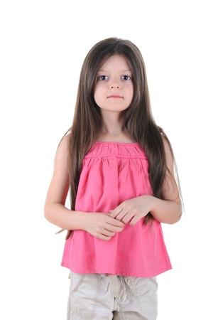 Little girl posing Stock Photo - 8891387