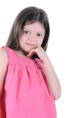Little girl posing Stock Photo - 8891920