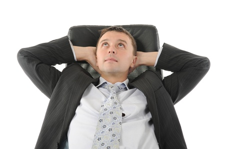 Young businessman Stock Photo - 8891932