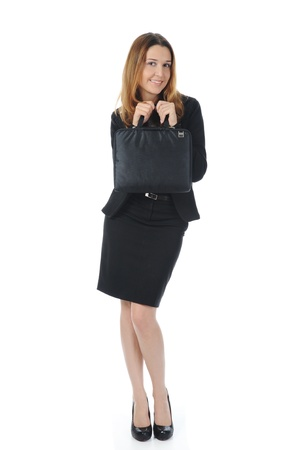 Portrait of business woman. photo