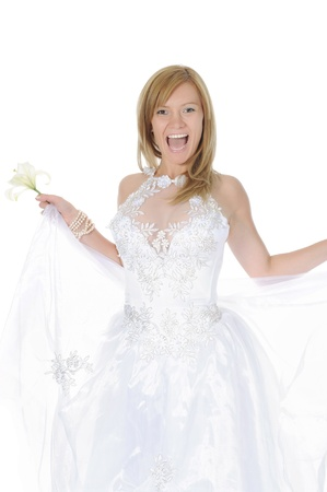 smiling bride Stock Photo - 8954745