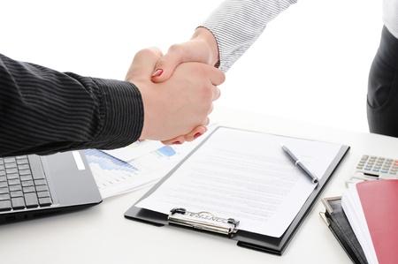 Handshake photo