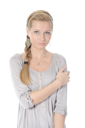 Smiling young woman Stock Photo - 8954880