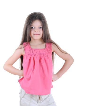 Little girl posing photo