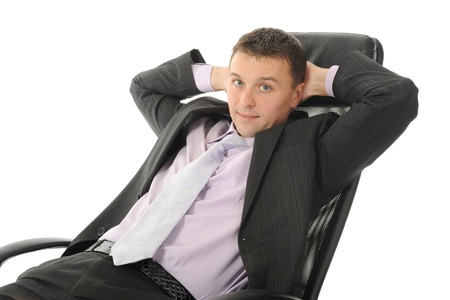 Young businessman Stock Photo - 8954854