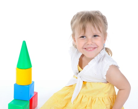 Little girl. photo