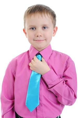 Funny little boy Stock Photo - 8955752