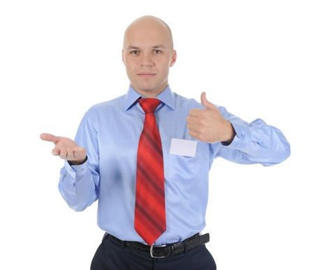 businessman with a jacket in his hands Stock Photo - 9034763