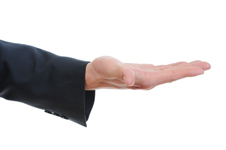hand held: tenuto in mano umana.
