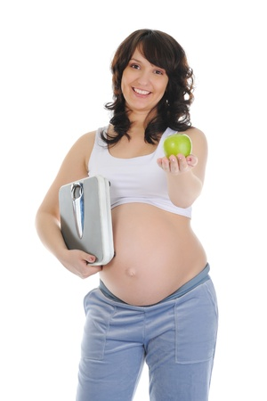 beautiful young pregnant woman Stock Photo - 9125212