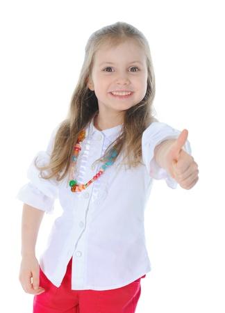 Funny girl Stock Photo - 9125380