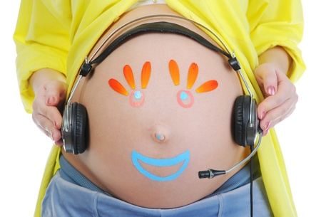 beautiful young pregnant woman Stock Photo - 9126347