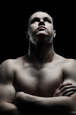 athletic young man Stock Photo - 9125593