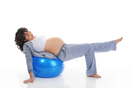 Beautiful pregnant woman Stock Photo - 9241208