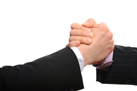 Handshake Partners Stock Photo - 9241209