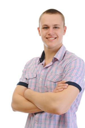 whitem: young man Stock Photo