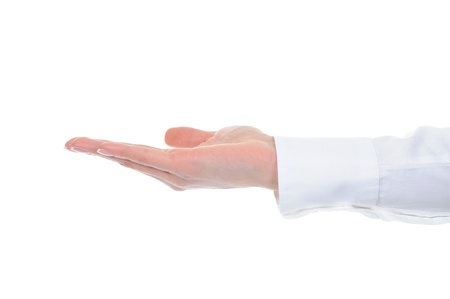 human hand held up. Stock Photo - 9241258