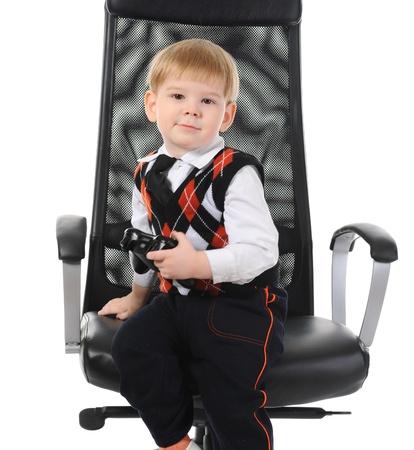 Portrait of a happy child photo