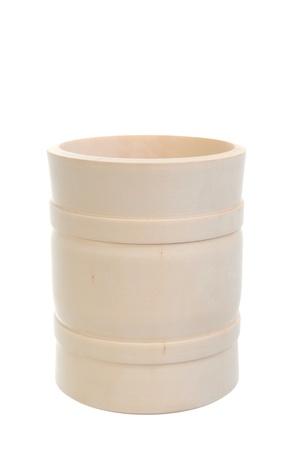 Image of a wooden beer mug photo